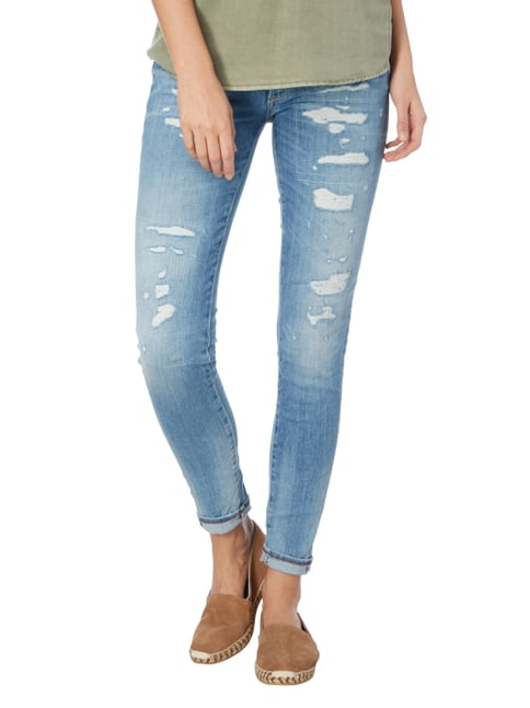 Le Temps De Cerises 5-Pocket-Jeans im Destroyed Look Jeans meliert - 1