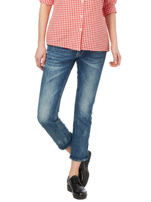 Le Temps De Cerises 5-Pocket-Jeans im Used Look Jeans meliert - 1