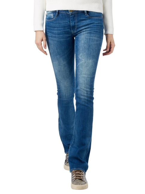 Le Temps De Cerises Stone Washed Skinny Fit 5-Pocket-Jeans Jeans meliert - 1