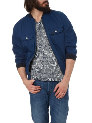 Lee Bomber aus Denim Dunkelblau - 1