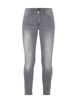 Stone Washed Jeans Gelb - 1