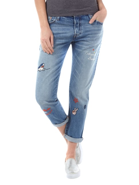 LEVIS 300 501 ® CT Tapered Fit 5-Pocket-Jeans im Light Used Look Jeans meliert - 1