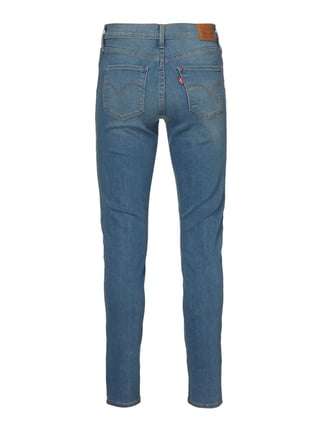 LEVIS 300 Shaping Skinny Fit Jeans im Destroyed Look Hellblau meliert - 1