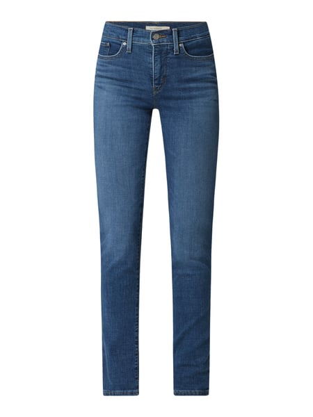 Levi's® 300 Shaping Slim Fit Jeans mit Stretch-Anteil Modell '312' Blau - 1