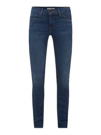 Levi's® 300 Shaping Super Skinny Fit Jeans mit Stretch-Anteil Blau - 1