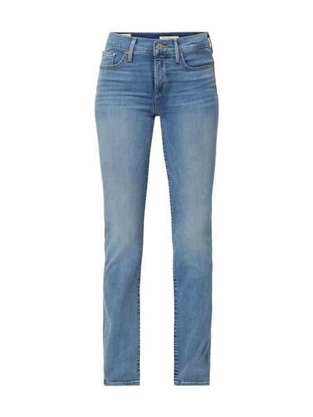 Levi's® 300 Stone Washed Shaping Slim Fit Jeans Blau - 1