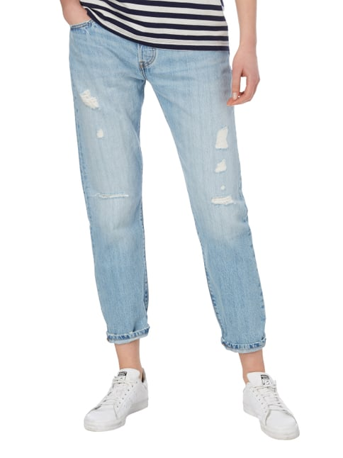 Levi's® Straight Fit 5-Pocket-Jeans im Destroyed Look Jeans - 1