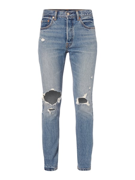 Levi's® 501 - Jeans im Destroyed Look Blau - 1