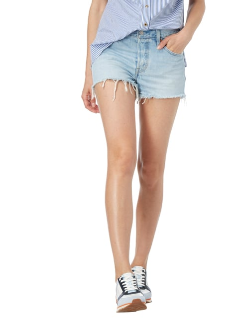 Levi's® Stone Washed Jeansshorts mit Fransen Jeans - 1