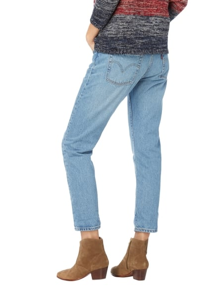 Levi S 501 Taper Tapered Fit Jeans Im Destroyed Look In Blau