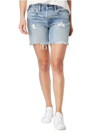 Levi's® 5-Pocket-Jeansshorts im Destroyed Look Jeans - 1