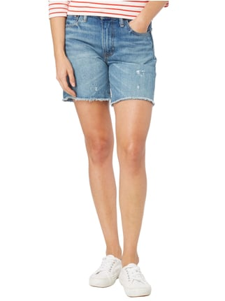Levi's® Straight Fit Jeansbermudas im Used Look Jeans - 1