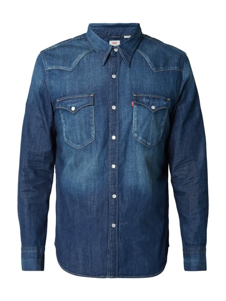 Levi's® Barstow Western Shirt Carbon Dark Jeans
