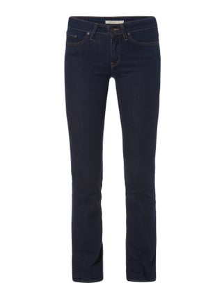 Coloured Boot Cut Jeans Blau / Türkis - 1