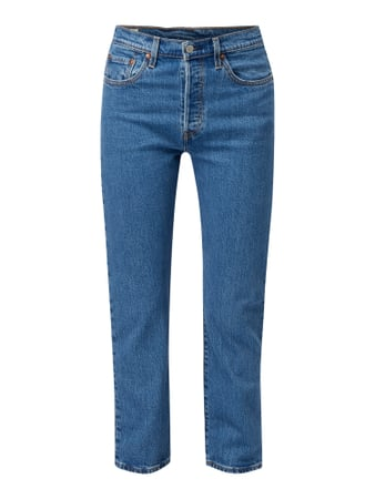 Levi's® Crop Jeans mit Label-Patch Blau - 1