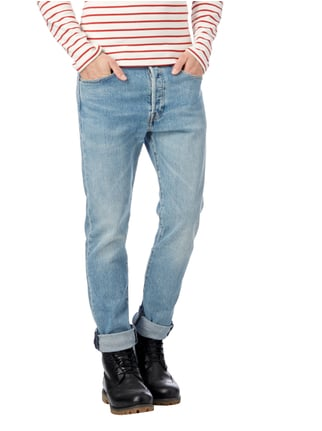 Levi's® Double Stone Washed Slim Fit Jeans Hellblau - 1