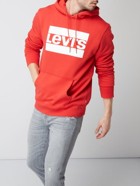 super popular 53f35 a7939 Levi's® – Graphic Pullover Hoodie Olympic Chinese Red, – Hellrot