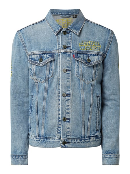Levi's® Levi's® x Star Wars™ Trucker Jacket mit Message-Stickerei Blau - 1