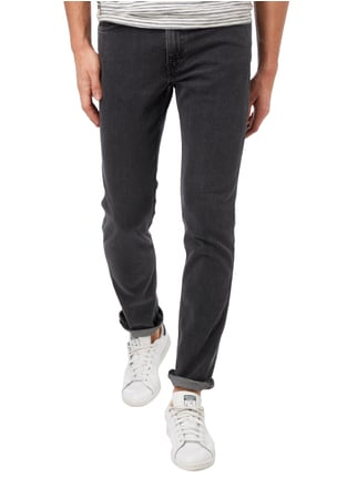 Levi's® Line 8 Coloured 5-Pocket-Jeans Schwarz - 1