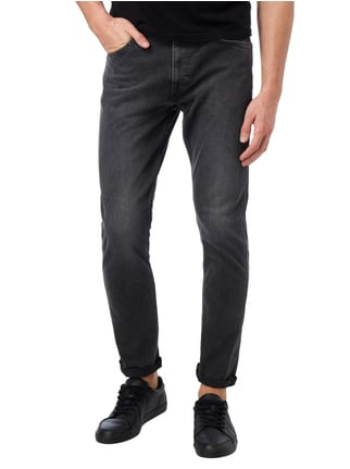 Levi's® Line 8 Coloured Slim Fit Jeans Mittelgrau - 1