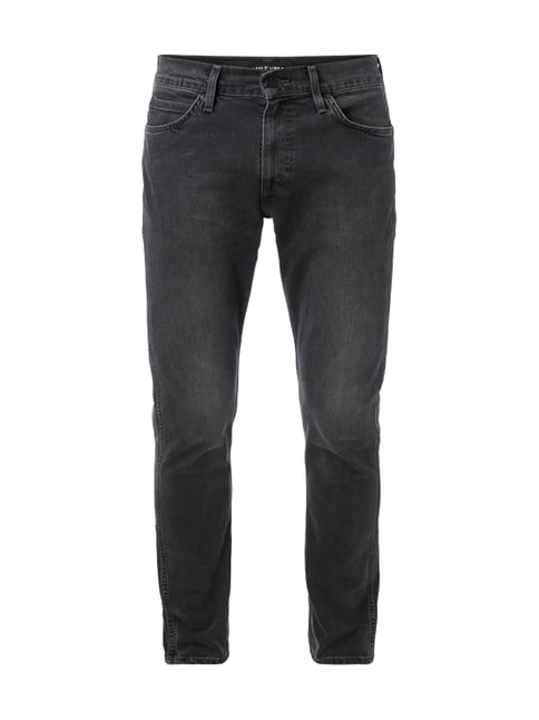 Coloured Slim Fit Jeans Grau / Schwarz - 1