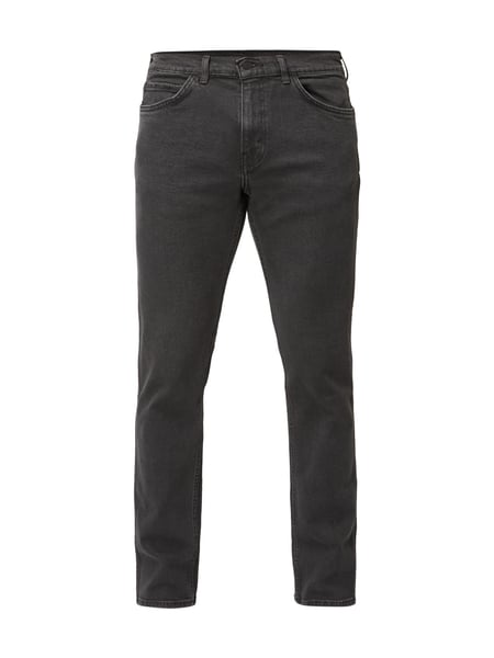 Line 8 Slim Straight Jeans Associate Stretch L8 Grau / Schwarz - 1