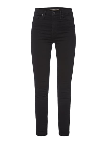 Levi's® Mile High Supers - MILE HIGH SUPERSKINNY - Coloured High Waist Jeans Schwarz
