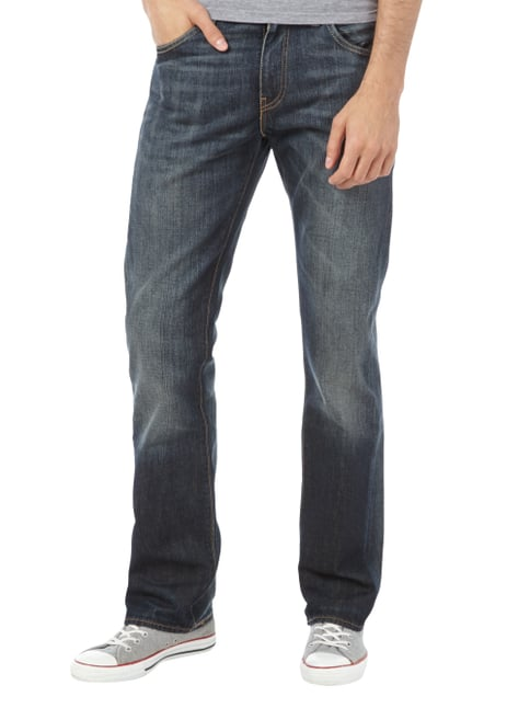 Levi's® Old Blue Washed Slim Bootcut Jeans Dunkelblau - 1
