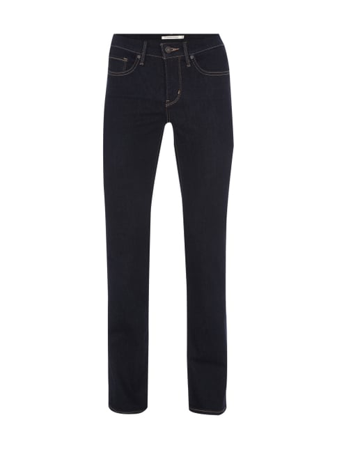 One Washed Shaping Straight Fit Jeans Blau / Türkis - 1