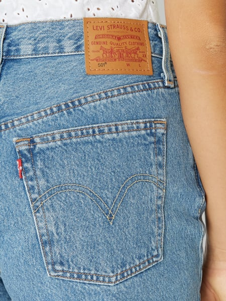 Levi's® – Original Fit Jeansshorts im Used Look – Jeans