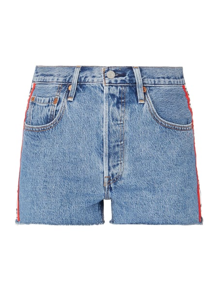 Levi's® Stone Washed 5-Pocket-Jeansshorts Blau - 1