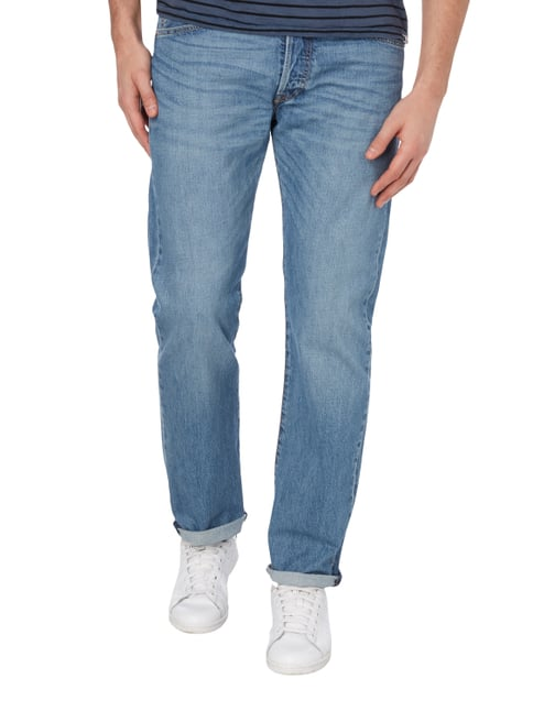 Levi's® Stone Washed Regular Fit 5-Pocket-Jeans Blau - 1