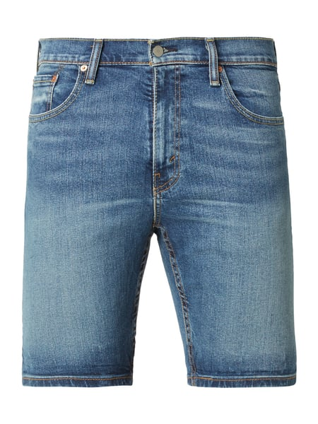 Levi's® Stone Washed Regular Tapered Fit Jeansshorts Blau / Türkis - 1