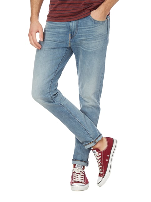Levi's® Stone Washed Slim Taper Fit Jeans Blau - 1