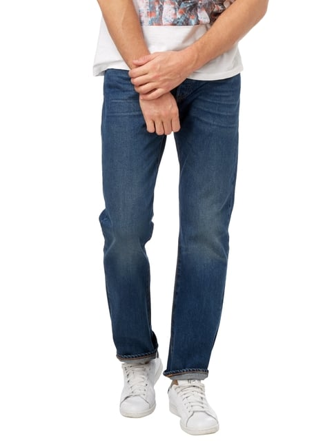 Levi's® Stone Washed Straight Fit Jeans Blau - 1
