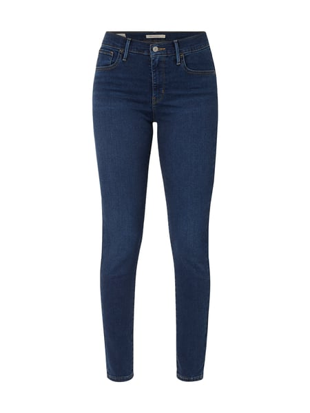 Levi's® Stone Washed Super Skinny Fit Jeans Blau - 1