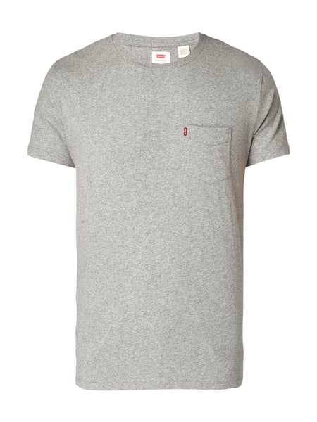Levi's® Sunset Pocket Tee Medium Grey Heather Mittelgrau