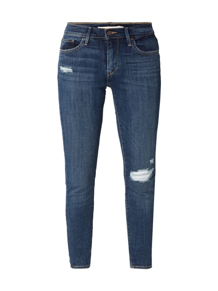 Levi's® 710 Super Skinny - Super Skinny Fit Jeans im Destroyed Look Jeans