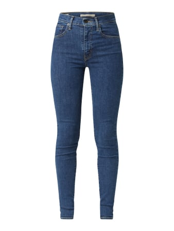 Levi's® Super Skinny Fit Jeans mit Stretch-Anteil Modell 'Mile High' Blau - 1