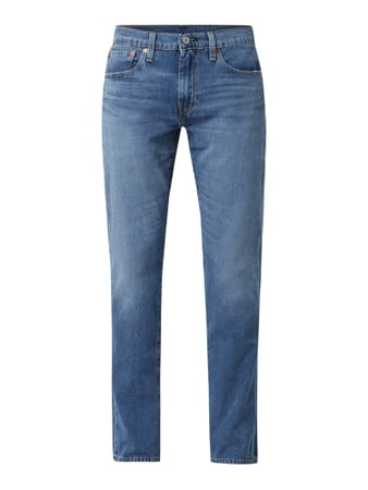 Levi's® Tapered Fit Jeans mit Stretch-Anteil Modell '502' Blau - 1