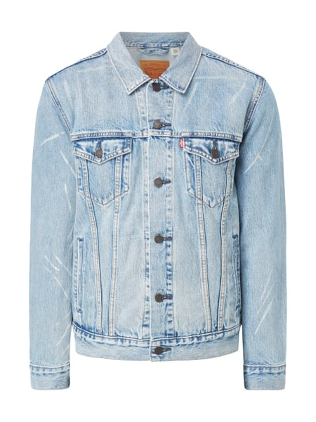 Levi's® The Trucker Jacket Rolled Up Dollar Trucker Olivgrün