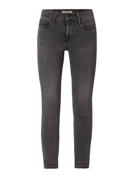 Levi's® Water<Less™ Super Skinny Fit Jeans mit Label-Patch Grau - 1
