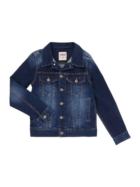 levis kids jeansjacke mit brusttaschen in blau t rkis online kaufen 9782639 p c online shop. Black Bedroom Furniture Sets. Home Design Ideas