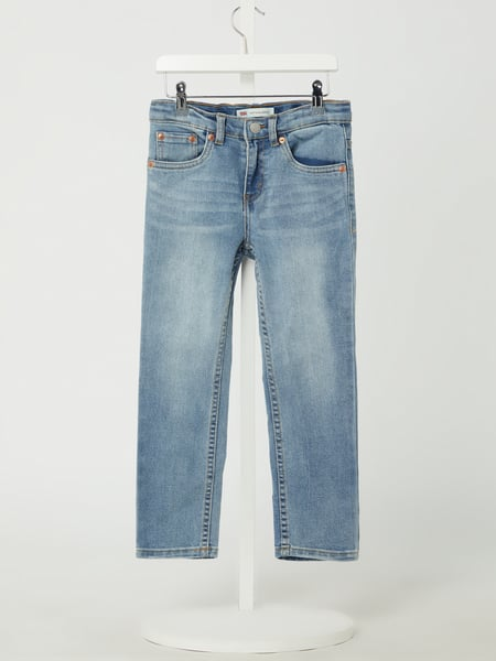 LEVIS KIDS Slim Tapered Fit Jeans mit Stretch-Anteil Modell '512' Blau - 1