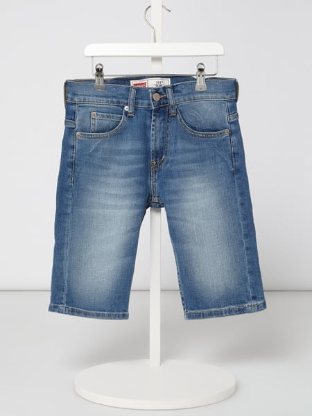 LEVIS KIDS Stone Washed Slim Fit Jeansbermudas Blau / Türkis - 1