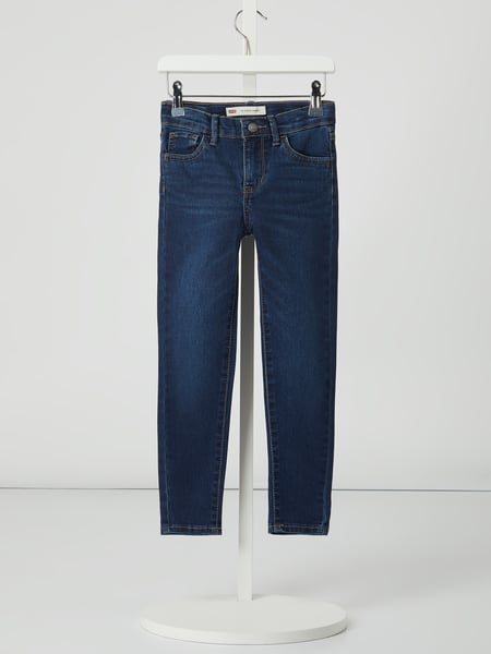 LEVIS KIDS Super Skinny Fit Jeans mit Stretch-Anteil Modell '710' Blau - 1