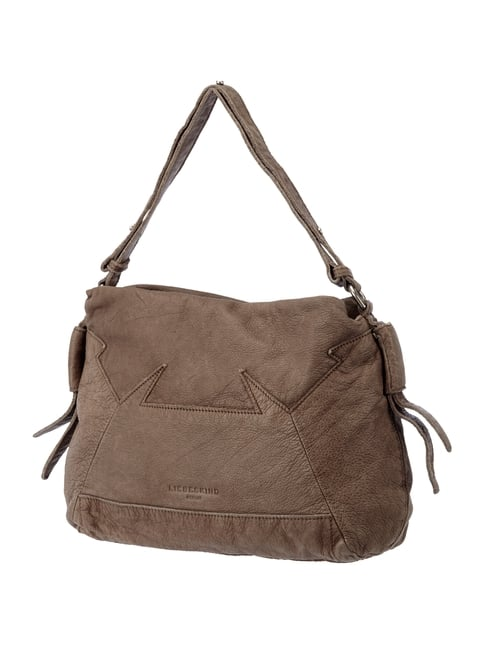 Hobo Bag aus Leder Braun - 1