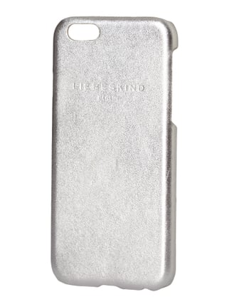 iPhone 6 Case in Metallicoptik Grau / Schwarz - 1