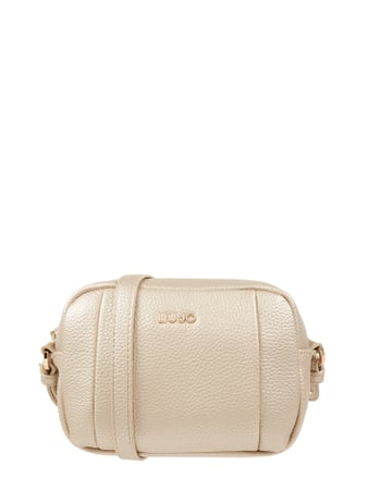 Liu Jo Jeans Camera Bag in Leder-Optik Gold - 1