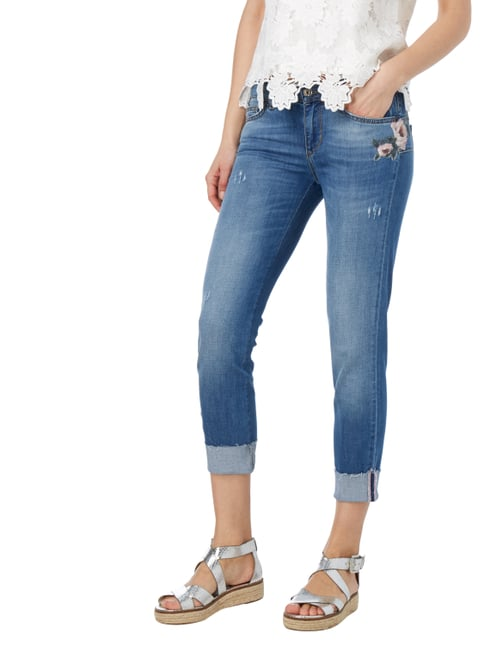 Liu Jo Jeans Regular Fit Jeans mit floralen Stickereien Jeans - 1